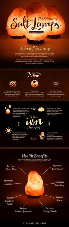 Himalayan Salt Lamp Infographic and Giveaway. I have these all over my house. Amazing. The glow is like a Christmas feeling. I love them.