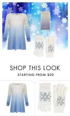 """""""As light as snow"""" by skatequeen303 ❤ liked on Polyvore featuring Joie, Fits and Kate Spade"""