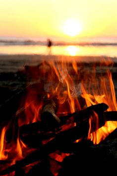 Bonfires at Avila Beach growing up, the smell of one brings back so many fun memories.