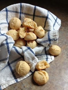 Paleo Dinner Rolls - 1 cup Tapioca Starch or Arrowroot Starch, ¼ – ⅓ cup Coconut Flour, 1 tsp Sea Salt, ½ cup Warm Water, ½ cup Light Olive Oil, 1 Large Egg, whisked