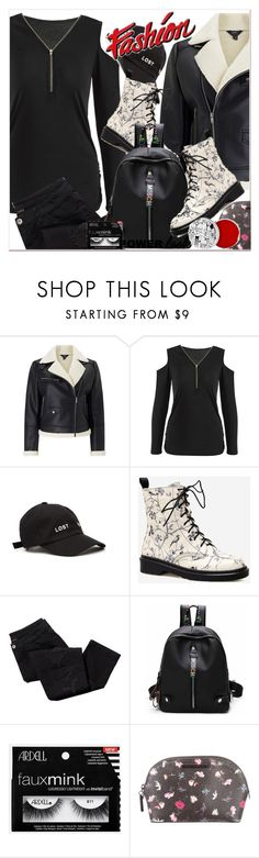 """""""GIRL POWER: Power Look"""" by selmir ❤ liked on Polyvore featuring Miss Selfridge, Yeezy by Kanye West, Avon, Rebecca Minkoff and too cool for school"""