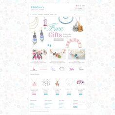Children's Jewelry  PrestaShop Template