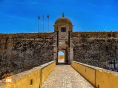 Things to do in Peniche – the fortress of Peniche.  #portugal #peniche #fortress #military