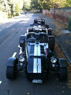 Get your Caterham Stripes Here… Caterham Cars, Caterham Super 7, Caterham Seven, Lotus Sports Car, Lotus 7, Love Car, Kit Cars, Commercial Vehicle, Kustom