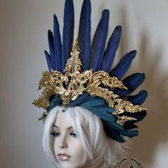 Shop Headdresses on Etsy ::: To requesta custom headdress, Contact Ka. :::