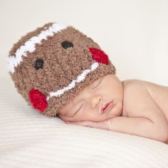 Baby Gingerbread Hats - Boy or Girl #Melondipity