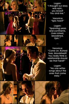 10 Reasons Why I Ship Veronica Mars and Logan Echolls: #8. Because they are EPIC.