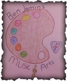 New JaminWithBen.Weebly.Com Logo I Created In Art! (2013-14)