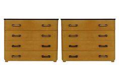 Art Deco Dressers, Pair on OneKingsLane.com