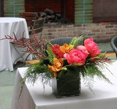 exotic table centre