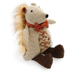 Woof & Poof Squirrel Decoration (920 UAH) ❤ liked on Polyvore featuring home, home decor, fall home decor and autumn home decor