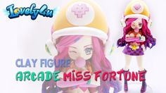 How to make Miss Fortune from LoL Clay Tutorial