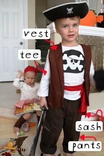 Simple Pirate Costumes!