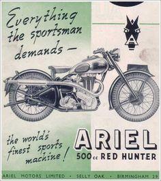 Ariel 1946 Red Hunter