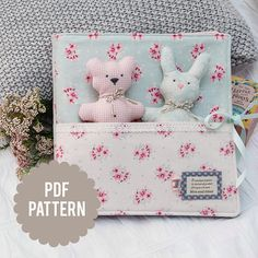 Baby Storybook / Quiet Book / Soft Book & Dolls Pattern