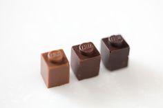 Chocolate Lego Characters Created byAkihiro... | Legosaurus