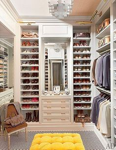Contemporary Closet - Find more amazing designs on Zillow Digs! Shoes glorious shoes!