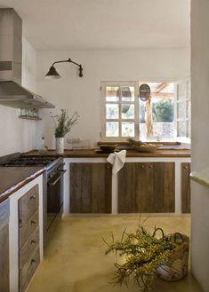Awesome EN MI ESPACIO VITAL: Muebles Recuperados Y Decoración Vintage Cocina De  Piedra, Cocinas De