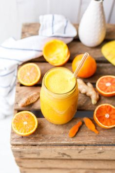 Kurkuma Elixier mit Orange & Ingwer