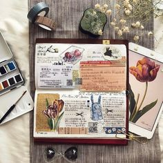 Pin by angela mejia on journal ideas skizzenbücher, tagebuch-ideen, reiseta Journal Diary, Journal Notebook, Junk Journal, Art Journal Pages, Art Journals, Tattoo Explore, Vibes Positivas, Journaling, Urban Threads