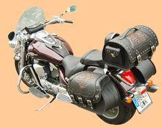Leather moto Drawing Tips simple drawings Motorcycle Luggage, Motorcycle Seats, Motorcycle Style, Custom Harleys, Custom Motorcycles, Honda Shadow 1100, Yamaha 650, E Biker, Harley Fatboy