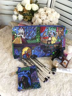 Beauty Belle Cosmetic Bag Toiletry Bag Makeup Bag Nerdy