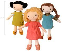 Patrones de muñecas de trapo gratis - Imagui
