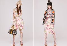 Swash London. Husband and wife duo Sarah Swash and Toshio Yamanaka have designed a collection covered in hand-drawn and painted motifs, ranging from flowers to animals and inner clock workings to equestrian bits