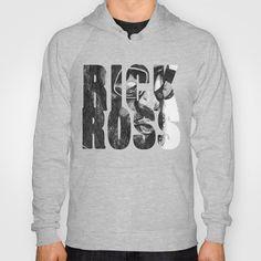 Rick Ross Hoody by Musa Drammeh - $38.00