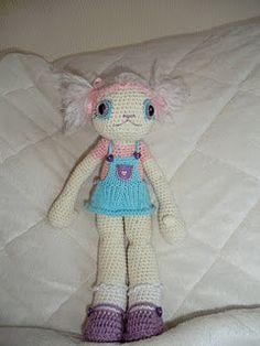 Kitty amigurumi crochet doll --wow so cute!
