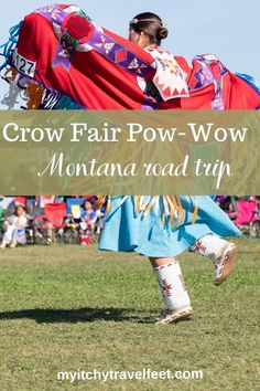 Visit the Crow Fair Pow-Wow on a Montana road trip that begins and ends in Billings. Be sure to add this Native American experience to your road trip itinerary. #boomertravel #montanatravel #roadtrip #usatravel European American, Native American, Custer Battlefield, Road Trip Hacks, Road Trips, Usa Travel, Travel Tips, Road Trip Destinations, Big Country