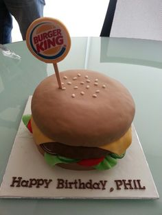 This is how we celebrate our Burger King Indonesia's Boss!
