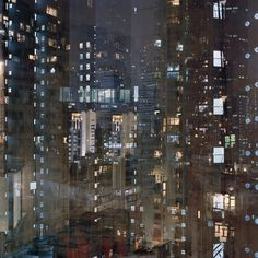 "noirchrome: "" 'Billions (Hong Kong Reflections)' photographed by Ward Roberts  """