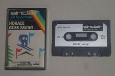 Sinclair ZX Spectrum: Horace Goes Skiing  Another fun Horace's game!  What I loved about this one was that you had to take the skis from the house in a Frogger-like mini game. 2 for the price of one!   Tags:  #retrogaming #retrogames #sinclairzxspectrum #spectrum #zxspectrum #horace #horacegoesskiing