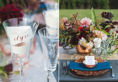 Metallics farm wedding inspiration   Photo by Made in March   Read more -  http://www.100layercake.com/blog/?p=82428