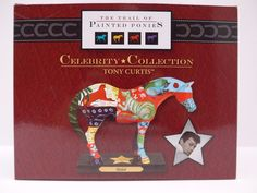 Trail of the Painted Ponies.Figurine.Shiloh.Artist Tony Curtis.New inBox.1E/9582