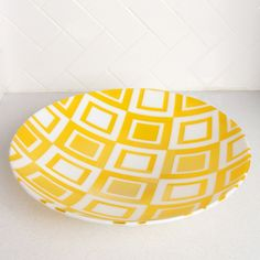Edie, a fused glass bowl.