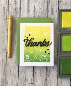 Card Making Inspiration, Making Ideas, Thank U Cards, Distress Ink Techniques, Distress Oxide Ink, Ink Stamps, Ink Pads, Card Sketches, Cool Cards