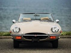 Jaguar E Type convertible Jaguar E Type, Convertible, Photo And Video, Instagram, Infinity Dress