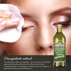 Post com dica de beleza utilizando azeite de oliva.  https://www.facebook.com/filippoberiobrasil