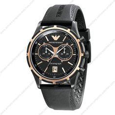 2e383fd56e1 Emporio Armani AR0584 - Mens Sports Style Rubber Strap Designer Watch