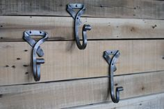 Neck Tie Hook. Hand-forged Wall Hook by Phoenix Handcraft via Etsy