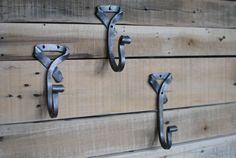 Neck Tie Hook. Hand-forged Wall Hook by Phoenix Handcraft