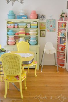 Lovely collection on Lark and Lola + a chair set makeover by hkatee, via Flickr