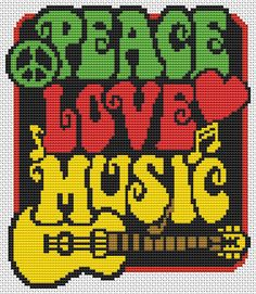 Mini Cross Stitch Pattern PDF includes a cover page, DMC Care Page, DMC material list, sized b/w chart with bigger symbols, thread length Cross Stitch Music, Mini Cross Stitch, Beaded Cross Stitch, Simple Cross Stitch, Counted Cross Stitch Kits, Cross Stitch Embroidery, Cross Stitch Designs, Cross Stitch Patterns, Tapestry Crochet