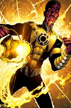"""Sinestro (Thaal Sinestro alias Indigo Lantern) (Korugarian/Empowered) (Korugar City, Planet Korugar, Space Sector 1417) Ruler, Dictator; former Anthropologist. Power ring (typically yellow variety)  Flight, light constructs with use of various rings.  Innate understanding of the fears of others. Expert hand-to-hand combatant. 6' 7"""" tall. ®... #{T.R.L.}"""