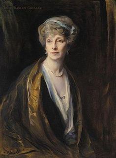 Lady Frances Gresley, daughter of the 8th Duke of Marlborough, 1924 (Philip de László) (1869-1937)
