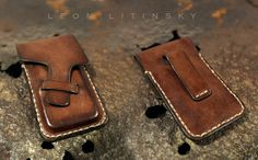 Leather iPhone Case by Leon Litinsky