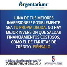 Salda tus deudas | Argentarium