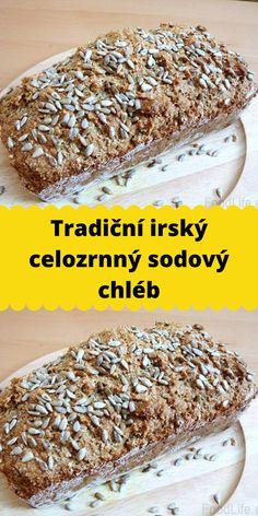 Tradiční irský celozrnný sodový chléb Banana Bread, Food, Essen, Meals, Yemek, Eten